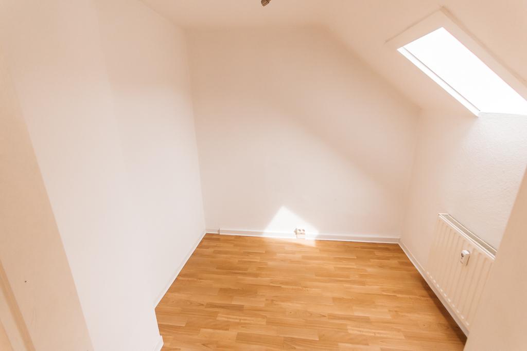 Dachgeschosswohnung – Für Singles und junges Wohnen